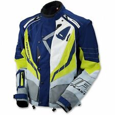 UFO 2017 Ranger MX Enduro Jacket - Grey Blue Yellow - Large