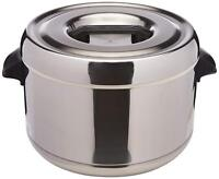 Zojirushi RDS-400 4-Liter Thermal Rice Sushi Warmer Holder, Stainless Steel NEW