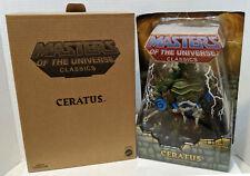 MOTUC Masters of the Universe Classics Ceratus Action Figure w/mailer MOC NEW