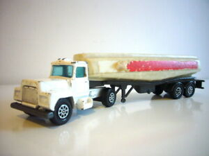 Corgi Super Juniors: Mack Esso petrol tanker, good condition, made in GB