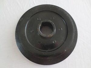 Austin Healey 100-6 & 3000 Crankshaft Pulley + Damper Assembly  OEM Used