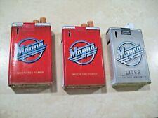 3 Magna Cigarette Box Lighters