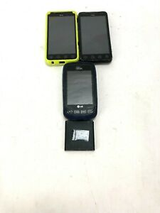 3 random phones 2 HTC 1 Virgin mobile untested for parts