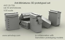 ANT Miniatures 1/35 Cal.30 Ammo Boxes and Cal.30 Cartridges Linked