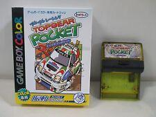 GB -- Top Gear Pocket -- Box. Game Boy, JAPAN Game Nintendo. 24718