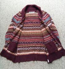 Vintage Woolrich Womens Southwest Native Aztec Cardigan Button Sweater Large