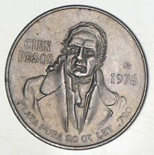 SILVER - WORLD COIN - 1978 Mexico 100 Pesos - World Silver Coin *122