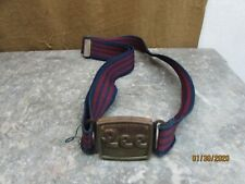 Vintage 70s 80s Lee Belt Adjustable Elastic With Magnetic Buckle