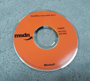 MSDN Disc 0755 April 2001  BackOffice Server 2000 Disc 4