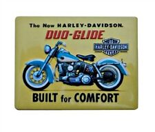 "Harley-Davidson® Duo-Glide Tin Embossed Collectible Magnet 3.5""x2.75"" 2010022"