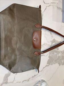 Longchamp Le Pliage  Nylon Tote Bag Large, Damaged