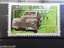 FRANCE 2000, timbre 3324 VOITURES ANCIENNES, PEUGEOT 203, neuf** CARS, VF MNH