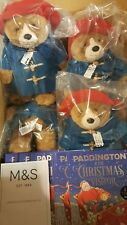 M&S PADDINGTON BEAR & CHRISTMAS VISITOR BOOK - LIMITED EDITION - SOLD OUT - BNWT