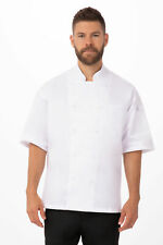 New Listingchef Works Unisex Palermo Executive Chef Coat Ewcv