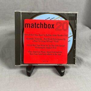 Matchbox 20 Real World Promo CD Simple 1998 Awards Hype Sticker Atlantic Records