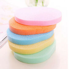 5*Soft Facial Cleansing Sponge Face Makeup Wash Pad Cleaning Sponge Puff  2017