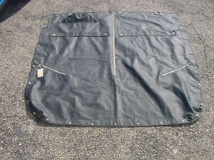 VG Used OE Tonneau Cover MG Midget Austin Healey Sprite 67-68 no Headrests