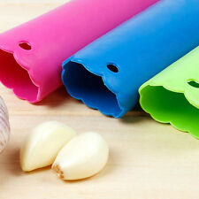 Knoblauchschäler Presse Kochen Küche Peeling Silikon-Tool Crusher Geschirr