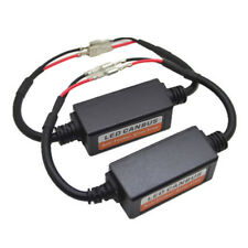 2X H1 Led Headlight Canbus Error Free Anti Flicker Resistor Canceller Decoder BH