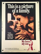 Original 1970 MY SON MY LOVER 30 x 40 Theatre Movie Poster ~ BEAUTIFUL CONDITION