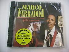 MARCO FERRADINI - FILO ROSSO - CD SIGILLATO 2005 - INCL. TEOREMA