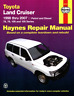 Haynes Workshop Manual Toyota Land Cruiser 1998-2007 Service Repair Gas Diesel