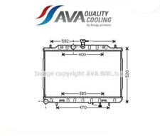 DN2293 Radiatore, Raffreddamento motore (AVA)