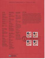 SSS: USPS 2002 Souvenir Page 37c Flag Non-Denominated Bklt & Coil Scott #3620-23