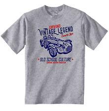 AUTO D'EPOCA INGLESE Allard J2X-Nuovo T-shirt di cotone