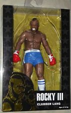 "NECA Clubber Lang Blue Pants Rocky Movie 40th Anniversary 7"" Action Figure"