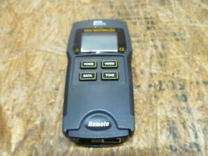 IDEAL 33-856 VDV Multimedia Cable Tester ( LOT 269)