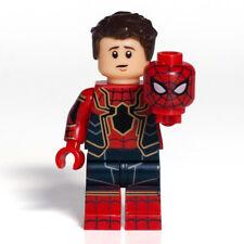 Custom Bricks Infinity War Spider-Man Iron Spider Peter Parker Minifigure