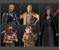 Star Wars Black Series Wave 3- Dark Side Rey | Moff | Kuill | Greef | Figures
