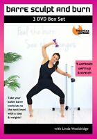 BARRE FUSION DVD - Barlates Body Blitz Barre Sculpt and Burn BOX SET 11 workouts