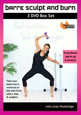 Cardio Toning Exercise DVD - Barlates Body Blitz Hula Barre Fusion 4 Workouts