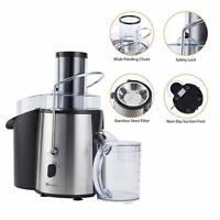 Powerful Whole Fruit Juicer 1000W Juice Extractor Press Centrifugal Machine