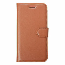 Leather Mobile Phone Wallet Cases for iPhone 7 Plus