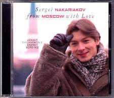 Sergei NAKARIAKOV: FROM MOSCOW WITH LOVE Gliere Vainberg Arutiunian Trumpet CD