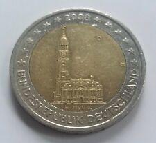 2 euro Germany Deutschland Allemagne 2008 D Hamburg