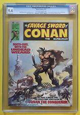 SAVAGE SWORD OF CONAN 10 Bondage GGA 1976 Marvel Buscema BORIS Conrad CGC NM 9.4