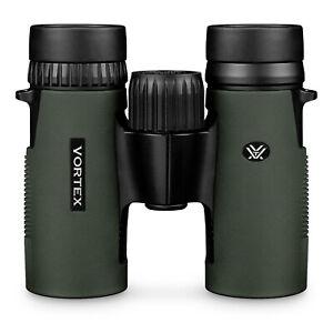 Vortex Diamondback 8x32 HD Binoculars. New HD model with full accessories. RRP.
