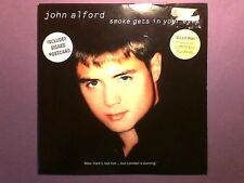 "John Alford - Smoke Gets In Your Eyes (7"" single) picture sleeve LUVTHIS 7"