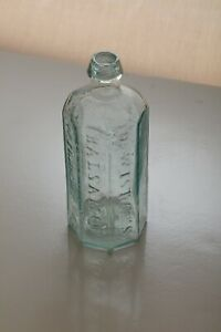 DR. WISTAR'S BALSAM OF WILD CHERRY PHILADA - 1840 - 8 SIDED OPEN PONTIL - NO RES