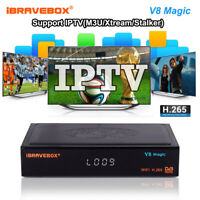 iBRAVEBOX V8 Magic WIFI Satellite DVB-S2 TV receiver  Stalker HD Set-Top Box