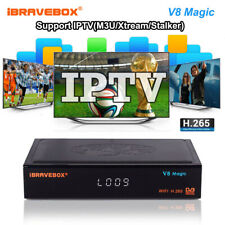 iBRAVEBOX V8 Magic WIFI Satellite DVB-S2 TV receiver  Stalker HD Set-Top Box