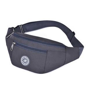 Fanny Pack Men Women Waterproof Waist Belt Bag Purse Hip Pouch Travel Sport Bum