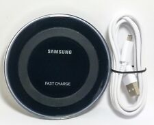 Genuine Samsung Fast Charge Qi Wireless Charging Pad for Galaxy S9,iPhone XR/X/8