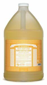 Dr Bronner`s Organic Citrus Castile Liquid Soap (3.78 Litre) - All Natural