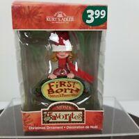 Kurt S Adler Moms Favorites Girl First Born Christmas Ornament Hanging Oldest