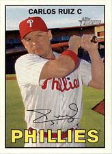 2016 Topps Heritage #138 Carlos Ruiz Philadelphia Phillies